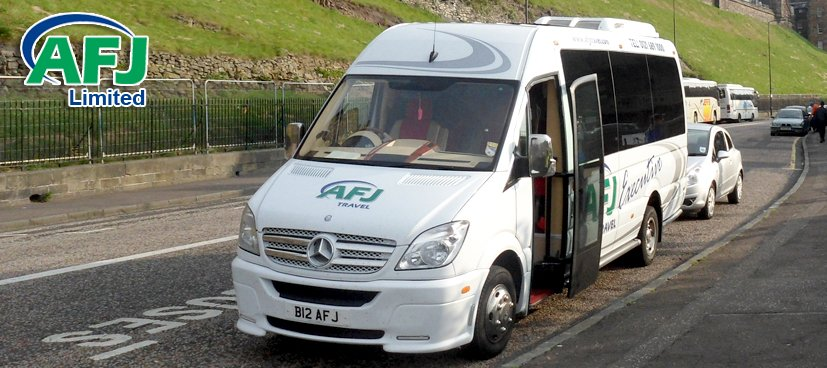 AFJ 16 Seater Minibus Hire with Driver